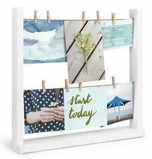 Umbra HANGIT Desktop PHOTO DISPLAY Multi Photo Frame Holder WHITE
