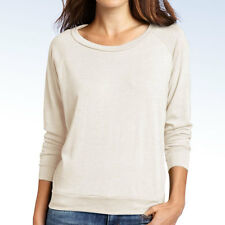 ALTERNATIVE Women's Lightweight Slouchy Pullover Shirt Top - Eco-Ivory - XL