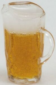 Miniature Dollhouse Pitcher of Beer 1:12 Scale New