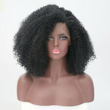 Afro Kinky Curly Lace Front Wigs for Black Women Synthetic Full Wigs Party Wigs