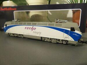 electrotren e2523 eloectrical locomotive renfe 252.013 renfe integria  ep v1