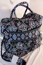 Vera Bradley Grand Cargo Travel Bag Weekend Luggage in Ink Blue NWOT Exact Item!