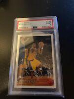 1996-97 Topps #138 Kobe Bryant RC Rookie HOF MVP PSA 9.