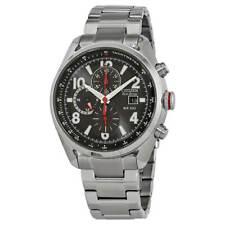 Reloj para hombres Citizen Chandler Cronógrafo Dial Negro Pulsera CA0368-56E