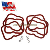 Valve Cover Gasket Set of 6 w/ Seals for Dodge Cummins 89-98 12V 6B 6BT 5.9 12V