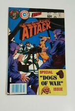 """Attack #45 (1984, Charlton) OUR FIGHTING FORCES IN ACTION! """"Dogs of War"""" Issue"""