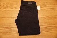 NWT MEN'S LUCKY BRAND CORDUROY PANTS 363 Multiple Sizes Straight Black $99