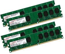 4x 4gb 16gb ddr2 800 MHz RAM memoria PC pc6400 240 pin pc2-6400 pc2-6400u