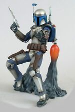 "Kotobukiya Japan Star Wars Art FX Jango Fett 12"" 1/6th Scale Figure Boxed"