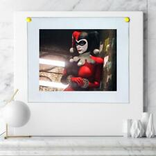 """8""""x10""""Harley Quinn HD Canvas printed Home decor painting room Wall art poster"""