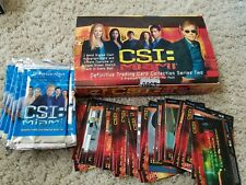 CSI Definitive Trading Cards Series 2 - Incomplete 63/72 - includes box