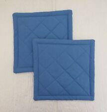 Blue Quilted Coaster, Trivet,Pot Holders,Hot Pad - Set of 2