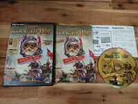 Cossacks Anthology Back To War PC Game Complete With Manual Good Condition