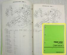 Takeuchi TB25 TB250 Compact Excavator Spare  Parts Catalog List 09/1989