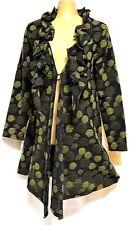 TS jacket TAKING SHAPE plus sz XXS / 12 Virtuoso Cardi cardy + scarf NWT rp$180!