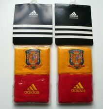 2 Packs (4 Wristbands) ADIDAS SPAIN Football Soccer Sweatbands Munequera Espana