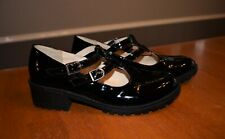 """Girl's """"Stevies"""" Brand Black Mary Jane Style Shoes - Size 5"""