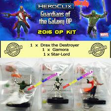 HEROCLIX MARVEL 2016 GUARDIANS OF THE GALAXY OP KIT - Drax + Gamora + Star-Lord