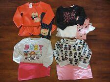 Toddler Girl 3T Fall/Winter Clothes Lot,  8 pcs (4 Long Sleeve Tops & 4 Pants)
