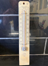 Caltex Mt. Barker Adelaide Vintage C.F. Thermometer Petrol Station