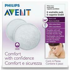 Philips Avent Breast Pads Washable 6 with Laundry Bag for Washing