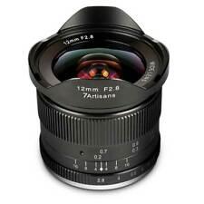 7 artisans objetivamente 12 mm f/2, 8 para Sony e