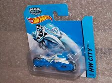 Max Steel Motorcycle Motorrad HW City 2014 Hot Wheels Modell Auto Muscle Car Rod