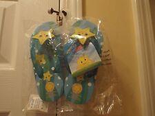 Melissa & Doug Sunny Patch Starfish Flip Flops Size 8-9