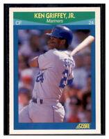 1990 Score Rising Stars #3 Ken Griffey Jr Seattle Mariners Baseball Card
