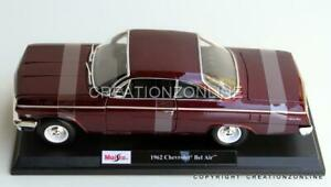 1962 Chevrolet Bel Air 1:18 Maisto Model Scale Car Vehicle FREE SHIPPING