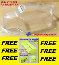 Body + FREE AILERON for 1/8 Buggy OFF ROAD by SP  for  HB D817 V2  SPBD0040