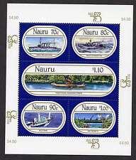 Nauru 464 MNH Ships
