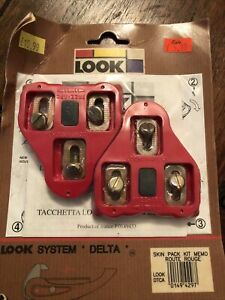 Look System Delta cleats - Unused