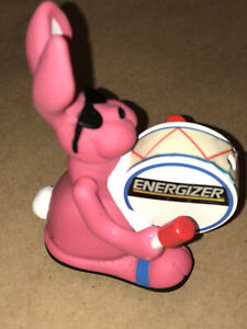 Vintage 1991 E.B. Energizer Toy Bunny Squeeze Light - Untested