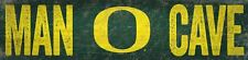 "Oregon Ducks MAN CAVE Football Wood Sign - NEW 16"" x 4""  Decoration Gift"