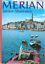 Merian Istrien Slowenien März 1970/ Heft 3/ 23. Jahrgang Doppeladler Klopotec