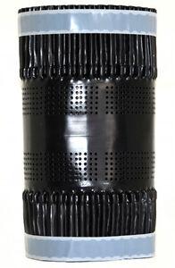 Firstband Firstrolle Gratrolle 300 mm x 1 m (im Zuschnitt) / schwarz