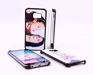 PERSONALISED CUSTOM PHOTO & TEXT PRINTED case fits Samsung Galaxy S6 Edge / Plus