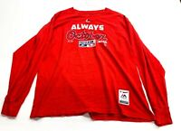St. Louis Cardinals Long Sleeve Always October Red Size XL Majestic MLB