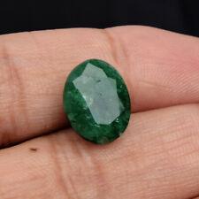 Natural Oval Cut Green Emerald Loose Gemstone 5.50 Ct Certified Gem Best Offer