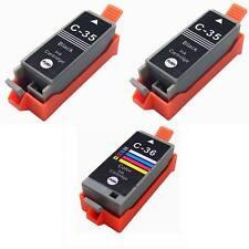 3 pack PGI-35 CLI-36 Printer Ink Cartridge for Canon printer PIXMA mini260