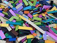 LEGO 2x3 2x4 2x6 2x8 2x10 2x16 - 50 Used Coloured Plates Per Order