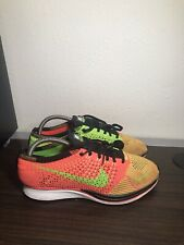RARE🔥 Nike Flyknit Racer Hyper Punch 7 Men's Shoes 526628-603 Electric Green