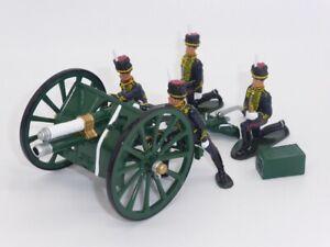 William Britain British Kings Troop, Royal Horse Artillery QF Gun & Crew 44053