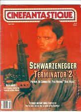 CINEFANTASTIQUE Magazine v.21#5 TERMINATOR 2 Arnold Schwarzenegger HIGHLANDER 2