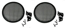 """2 Pack Penn Elcom G08 Speaker Grill With Mounting Hardware for 8"""" Sub Woofers"""