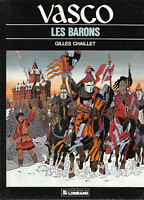 Vasco 5. Les Barons. CHAILLET 1987 - Etat neuf