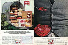 1963 Jell-O Pudding Pie Filling Mailbox & Always Room For Jello 2 Different Ads