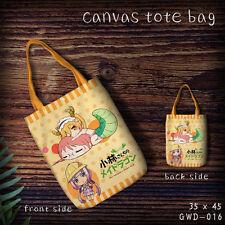 Miss Kobayashi's Dragon Maid shopping bag handbag shoulder bag tote storage bags