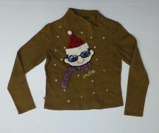 Pacino Wan Womens Size M Multi-Color Ugly Christmas Shirt Good Condition